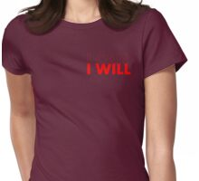 I Can I Will 2014 No 1 Womens Fitted T-Shirt