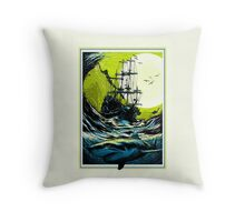 Ancient Seas Throw Pillow