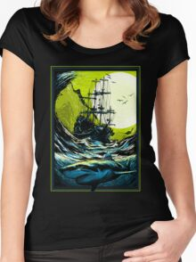 Ancient Seas Women's Fitted Scoop T-Shirt