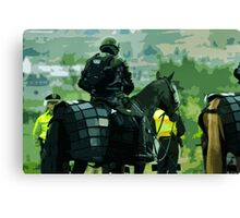 War Horse Canvas Print