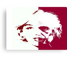 Marilyn Einstein Canvas Print