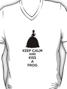 Keep Calm And Kiss A Frog T-Shirt