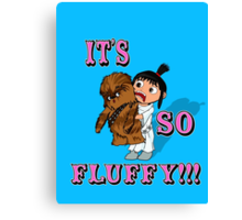 It's So Fluffy!!!! Canvas Print