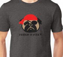 Pug Pirate! Arrgh Matey!! Unisex T-Shirt