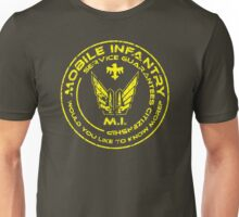 Starship Troopers - Mobile Infantry Patch Unisex T-Shirt