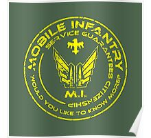 Starship Troopers - Mobile Infantry Patch Poster