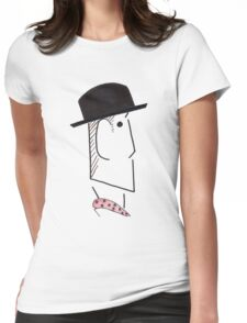 The Inspector Womens Fitted T-Shirt
