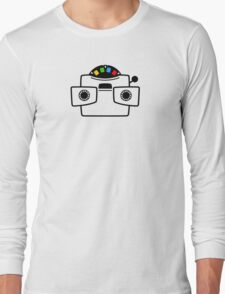 Viewmaster Black Colours Long Sleeve T-Shirt