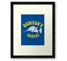 Dawson's Garage - Adventures in Babysitting Framed Print