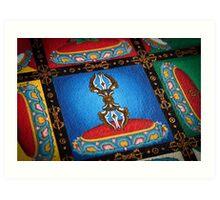 Mandala of Yamantaka (detail #3) Art Print