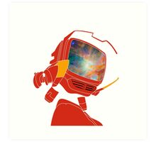 Psychedelic Canti without background Art Print