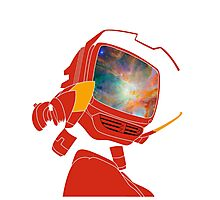 Psychedelic Canti without background Photographic Print