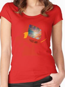 Psychedelic Canti without background Women's Fitted Scoop T-Shirt