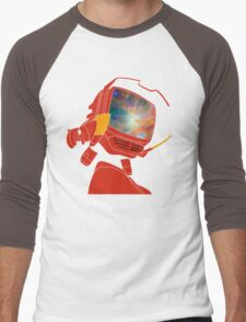 Psychedelic Canti without background Men's Baseball ¾ T-Shirt