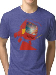 Psychedelic Canti without background Tri-blend T-Shirt