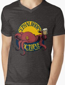 Octopus October Brew Mens V-Neck T-Shirt