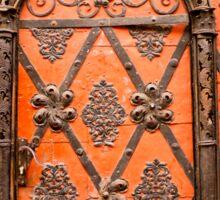 Decorative Door Sticker