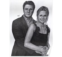 Mr and Mrs Castle Poster