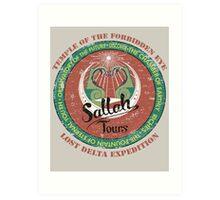 Sallah's Temple Tours Art Print