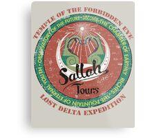 Sallah's Temple Tours Metal Print