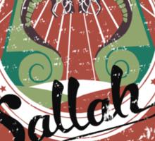 Sallah's Temple Tours Sticker