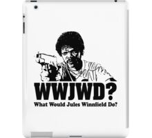 WWJWD What Would Jules Do iPad Case/Skin