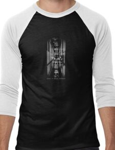 2001 A Space Odyssey HAL 9000 Men's Baseball ¾ T-Shirt