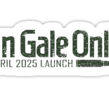 Gun Gale Online Launch Sticker