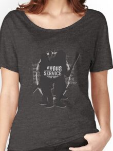 At Your Service Women's Relaxed Fit T-Shirt
