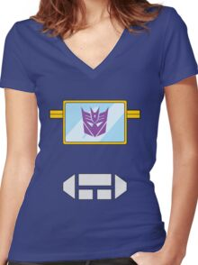 Soundwave - Transformers 80s Women's Fitted V-Neck T-Shirt