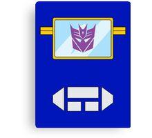 Soundwave - Transformers 80s Canvas Print