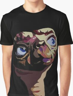 E.T. - The Extra terrestrial - Pop Art Graphic T-Shirt