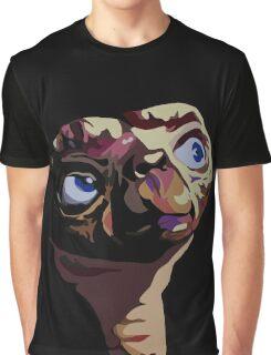 E.T. - The Extra terrestrial - Pop Art Graphic T-Shirt