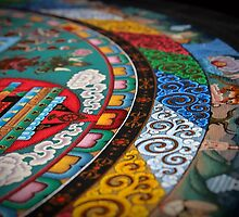Mandala of Yamantaka (detail #1) by Deanna Gardam
