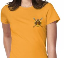 Banana Guard Academy Womens Fitted T-Shirt
