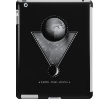 The earth star and moon iPad Case/Skin