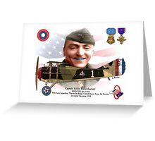 Captain Eddie Rickenbaker Greeting Card
