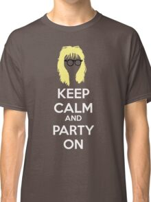 Keep Calm, and Party On Classic T-Shirt