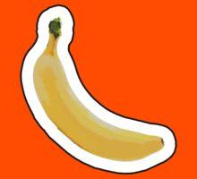 Banana Sticker by pamelahoward
