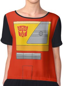 Blaster - Transformers 80s Chiffon Top