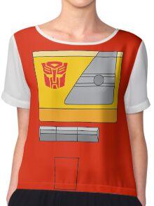 Blaster - Transformers 80s Chiffon Top