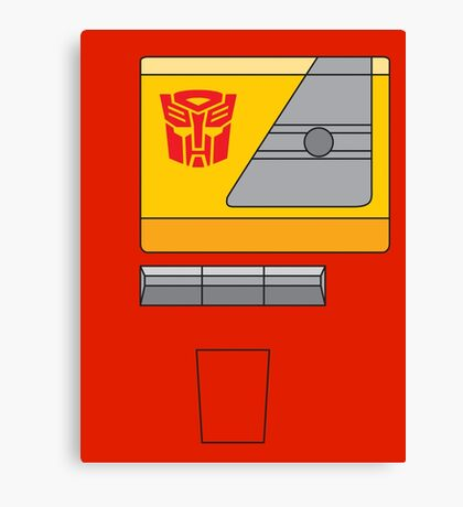 Blaster - Transformers 80s Canvas Print