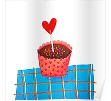 cupcake means love  Poster