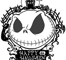 Happy Halloween Nightmare Style by Skree