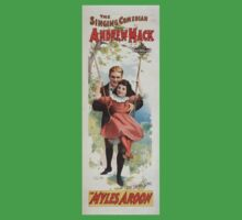 Performing Arts Posters The singing comedian Andrew Mack in Myles Aroon 0732 One Piece - Short Sleeve