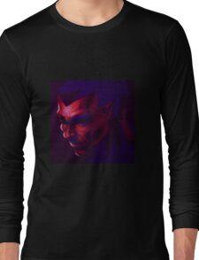 Red & Purple Long Sleeve T-Shirt
