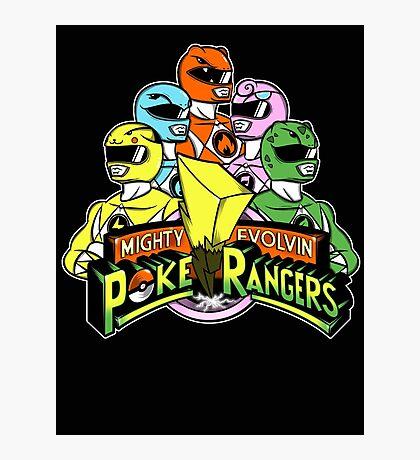 Poke Rangers Photographic Print