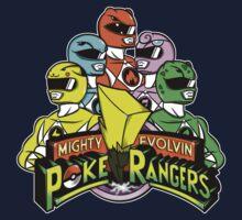 Poke Rangers Kids Clothes