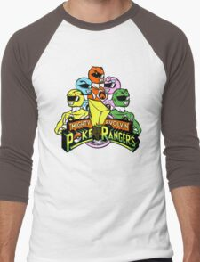 Poke Rangers Men's Baseball ¾ T-Shirt