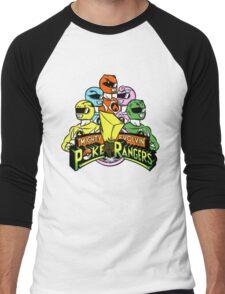 Poke Rangers Men's Baseball ¾ T-Shirt